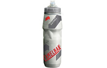 Camelbak Bidon POdium Big Chill Clear/Racing Red
